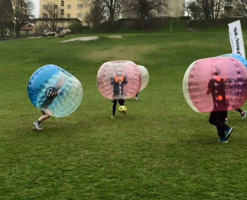 Bubble Soccer Birthday Party Team Strategy