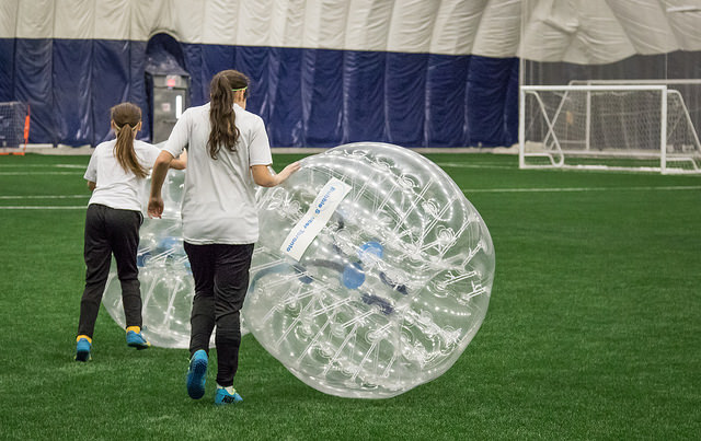 Bubble Soccer at Pickering Soccer Center 1