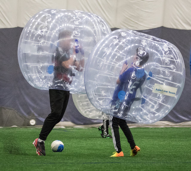 Bubble Soccer Birthday Party